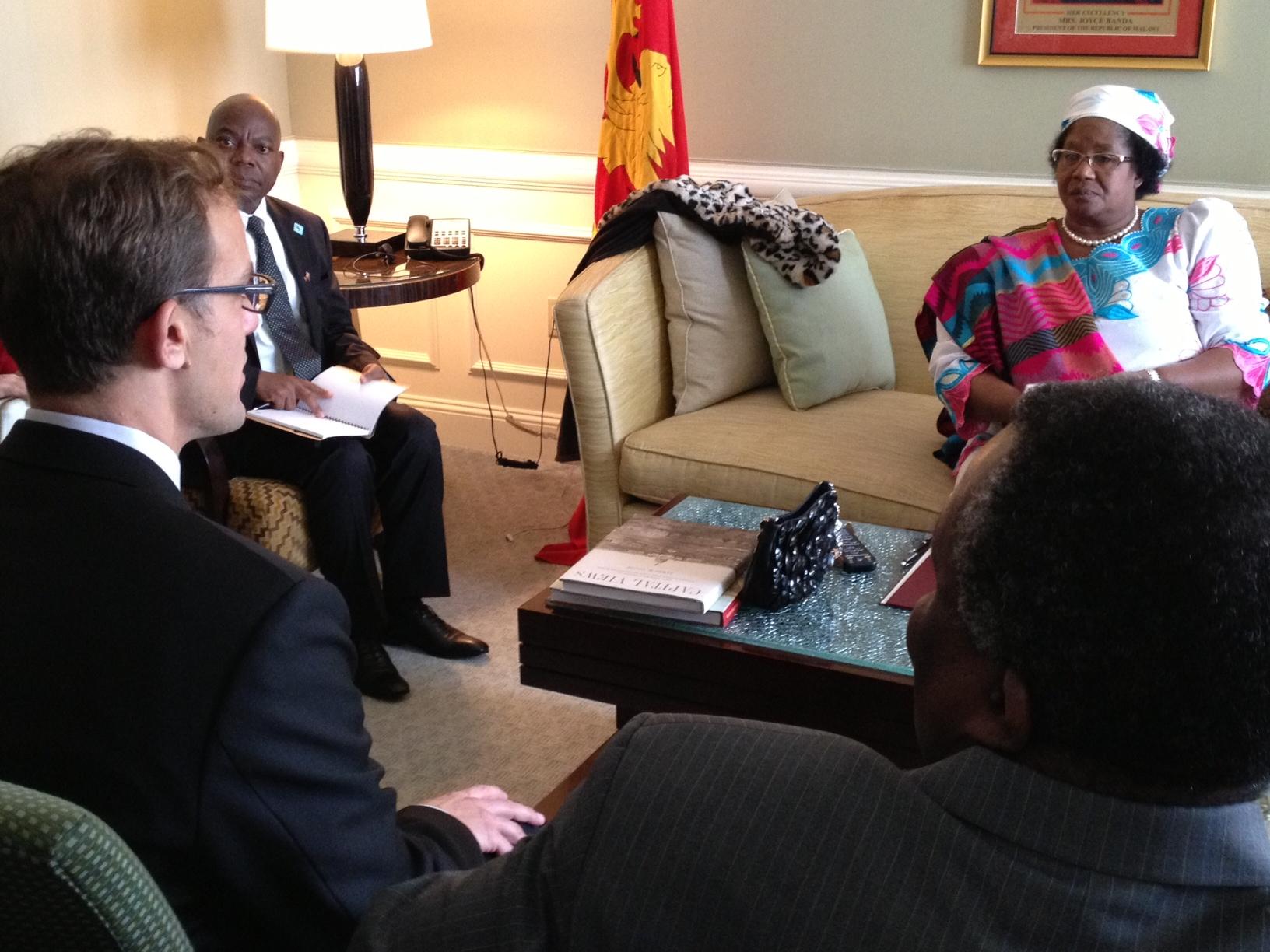 ADM and President Banda