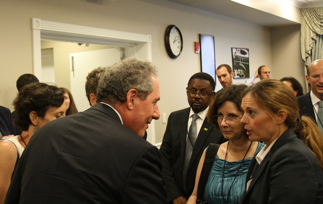 Ambassador Froman greets stakeholders