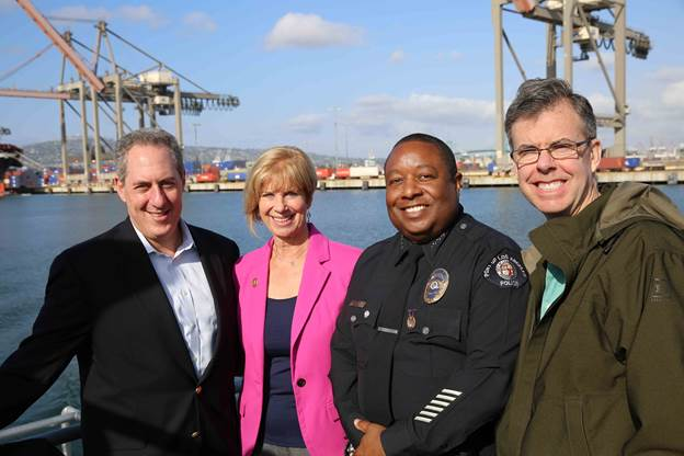A Visit To The Port Of Los Angeles Supporting U S Jobs