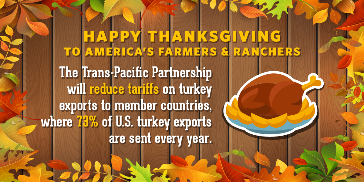 This Year USTR is Thankful for… the Trans-Pacific Partnership