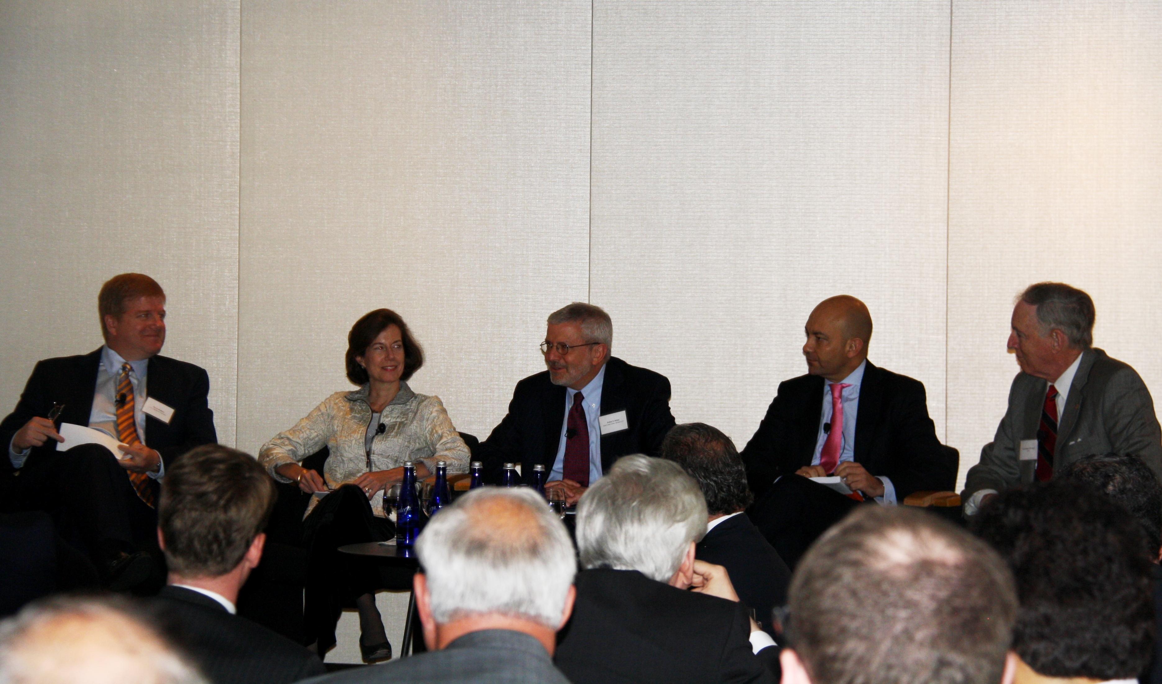 Ambassador Sapiro speaks on panel
