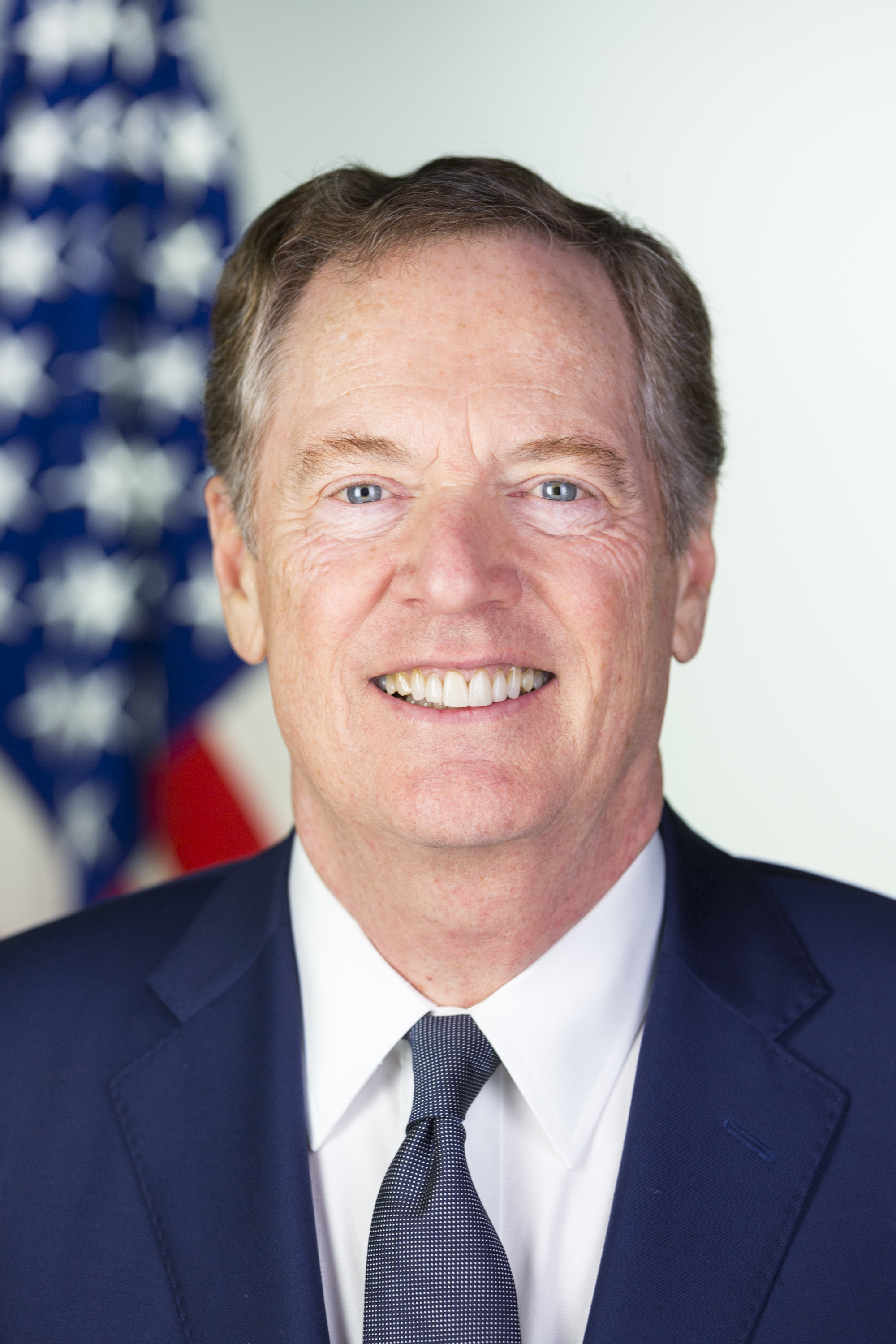 Robert E Lighthizer was sworn in as