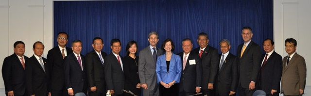 US ASEAN delegation