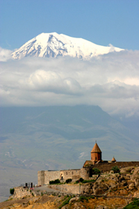 Ararat and church