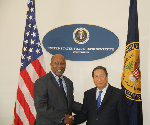 Ambassador Kirk meets with Vietnam's Deputy Prime Minister and Foreign Minister Pham Gia Khiem